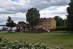 Stora Malmgatan near Strandvgen in Sigtuna (Christopher M Dawson) Tags: house building storamalmgatan strandvgen viking baltic scandinavia homelands travel international foreign tourism adventure history scenery art architecture europe 2016cmdawson nikon sweden sigtuna town village old small quaint lake