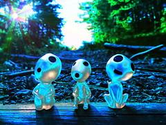 The Echo (JMHmagdalia) Tags: echo animation miyazaki miniatures strange forest wood