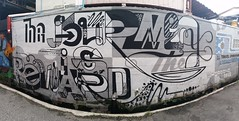 DEPSONE (Emptiness Of Light) Tags: deps one art graffiti journey reward typography painting greyscale chaing mai thailand 2016
