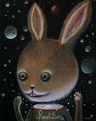 Revolution (by Peca) (JamesGoblin) Tags: painting paint artwork surreal surrealism art spiritual mystical symbol symbolic mysticism illustration illustrate illustrations poster posters wallpaper wallpapers mystery rabbit rabbits space universe sky skies night