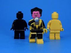 Black and Yellow (MrKjito) Tags: lego minifig black yellow sinestro lantern dc comic comics wiz khalifa rap song villain theme