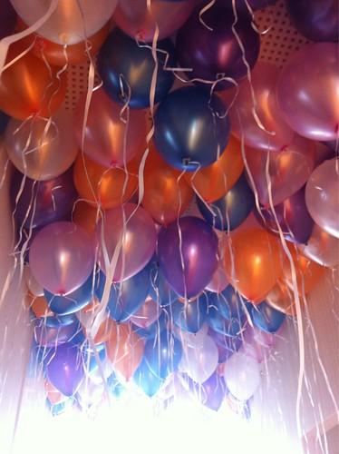 Heliumballonnen Ballonnenplafond GGD Lekkerkerk