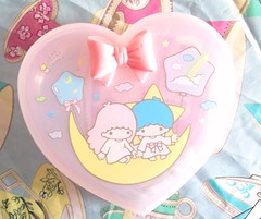 Little twin stars trinket box (Hazel) Tags: cute vintage stars little twin sanrio kawaii kiki lala