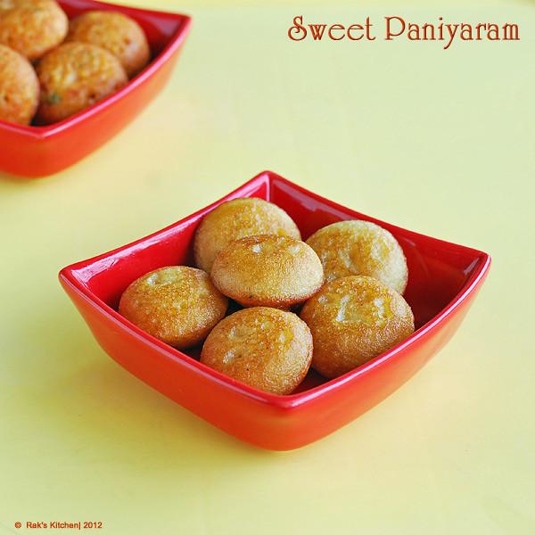 sweetpaniyaram