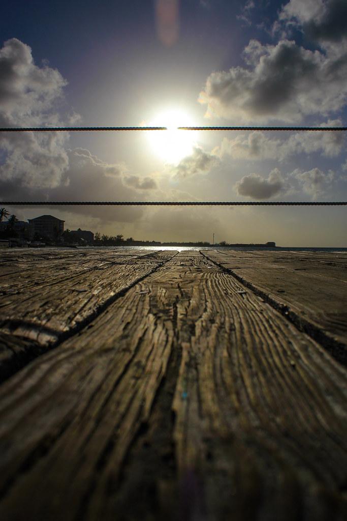 Coucher de soleil sur le quai - Sandals Royal Bahamian - Nassau, Bahamas