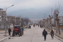Village (from bus) (mulderlis) Tags: northkorea pyongyang dprk noordkorea