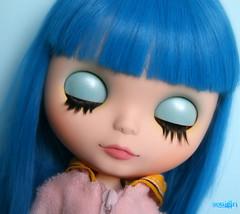 Lenny's eyelids :)