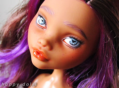 Custom MH Clawdeen (happy dolls) Tags: cute monster high doll ebay forsale sweet auction adorable kawaii bjd custom happydolls mattel fa fs repaint foradoption playline hellohappy