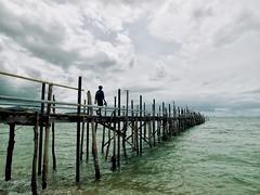 El pantalan (SANTI BAON) Tags: thailand tailandia deck samui pantalan