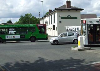 Buses in Lenton -  May 2011