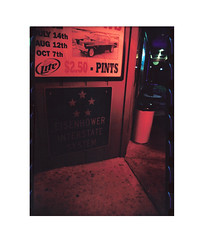 (chelsrr ) Tags: color film bar night darkroom 35mm illinois midwest analogue canonae1program barscene crusin colorprocessing fujifilmxtra200