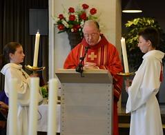 Zondag 27 mei vierde Jan Renders in #rosmalen dat hij 25 jaar diaken is (Maarten van Caldenberg) Tags: kerk jubileum geloof rosmalen diaken geloven janrenders