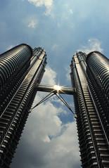 Petronas Twin Towers (KLCC) 3 (nur hanis abdullah) Tags: buildings petronas towers malaysia kualalumpur klcc