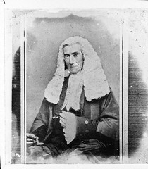 Portrait of Judge John Hubert Plunkett in robes and wig (Australian National Maritime Museum on The Commons) Tags: portrait vintage wig judge law robes vintagephotograph vintagefashion vintagehats vintagepictures vintagepicture williamhall williamjhall williamhallcollection williamjhallcollection