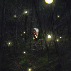 Exploration (Brad.Wagner) Tags: light night forest woods glow exploration orbs fireflies faries coraline brunocoulais bradwagner
