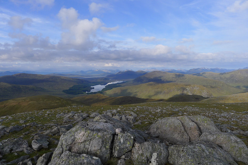 Looking west from Beinn Eibhinn