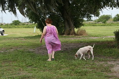 Toni at the park (TrotlineDesigns (Ron Joseph) In The Glades) Tags: sexy lady big fat bbw milf ladyboy amputee shemale ssbbw gmilf
