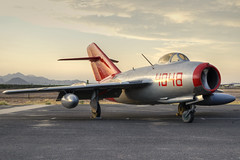 mikoyan-gurevich mig-15bis fagot (MatthewPHX) Tags: arizona field nikon force air wing falcon caf hdr mesa ffz msc mig commemorative gurevich mikoyan mig15 d90 falconfield fagot photomatix mikoyangurevich commemorativeairforce mig15bis kffz arizonawing