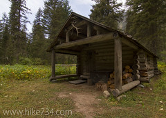 "Lower Nyack Creek Patrol Cabin • <a style=""font-size:0.8em;"" href=""http://www.flickr.com/photos/63501323@N07/7429278944/"" target=""_blank"">View on Flickr</a>"