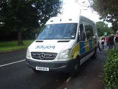 Staffordshire Police Van (VX10 KCU ) (Emergency_Vehicles) Tags: search team police torch olympic staffordshire relay litchfield