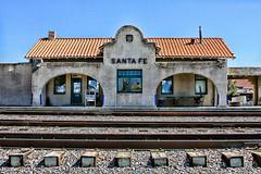 Santa Fe Depot (Hylas) Tags: newmexico santafe train depot santaferailroad canon50d