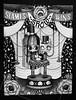 Siamese Twins Show (Anita Mejia) Tags: show black cute girl hat illustration pen ink cat twins doll theatre drawing circus siamese pluma cirque anitamejia