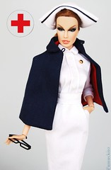 """Luchia Fashion Night Out with Nurse repro vintage barbie"""". (Pumuckito) Tags: fashion doll collectible exclusive royalty fr2 luchia"""
