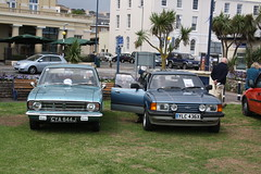 Cortina's (lazy south's travels) Tags: uk england classic ford cortina car estate britain south rally devon british preserved saloon teignmouth