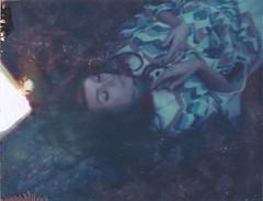 The Dream Catcher (Aubry Aragon) Tags: film girl hair polaroid colorado native sleep magic dream expired iduv