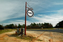 Pure Country (MilkaWay) Tags: georgia highway shell gasstation crossroads pure gaspumps johnsoncounty freehome us319