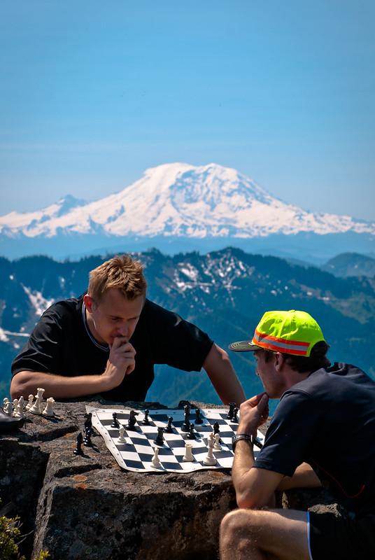 Mailbox Peak, cz. II. -- szachy na wysokości..