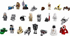 2013 Advent Calendar (Storm Brick) Tags: rebel star advent calendar lego mini darth cannon wars clone atat droid maul 2012 gunship astromech aat snowtrooper 2013