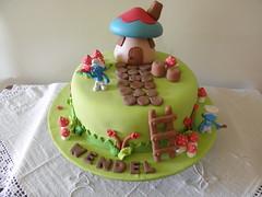 bolo smrufs (Lucianna Chaves) Tags: cake bolo smurfs