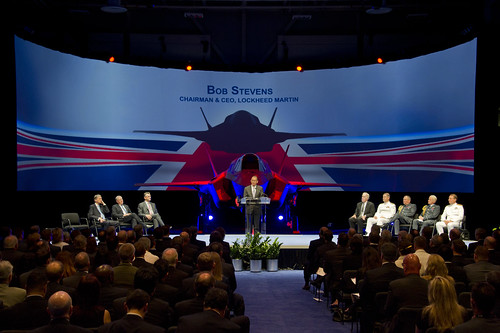 First UK F-35 Delivery Ceremony