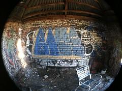 BLUE22 (OMNIGRAFF.COM) Tags: california blue graffiti bay nc east area livermore wfk blue22