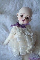 makeup commission for 6luciole (heliantas) Tags: doll bjd kane humpty dumpty commission popo faceup dollmore nefer