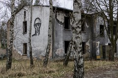 Ghost Soldier (jrej www.gregoirec.com) Tags: abandoned germany pentax military soviet ddr limited barracks k5 urbex vogelsang gssd smcpfa31mmf18