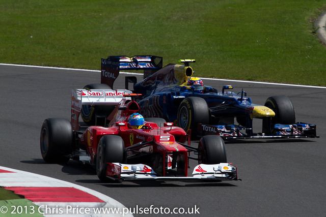 Felipe Massa and Mark Webber