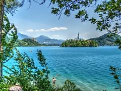 Lago de Bled (etoma) Tags: eslovenia lagodebled