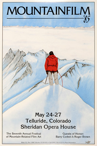 1985 Mountainfilm in Telluride Festival Poster