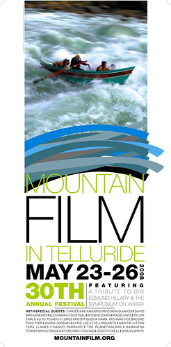 2008 Mountainfilm in Telluride Festival Poster