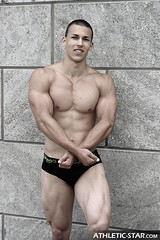 Young Athlete (Phil Hollister Photographer) Tags: man male men sports nude star athletic model skin muscle muscular hunk strength bodybuilder biceps fitness sixpack athleticstar