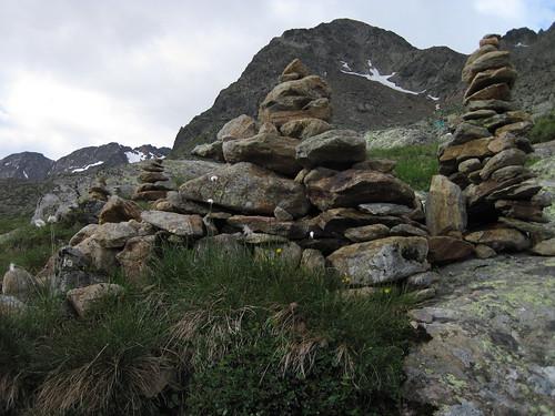 IMG_4488 Steinmandl oberhalb der Hütte