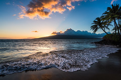 First Stop (Foto Fresh) Tags: ocean travel sunset mountains beach colors beautiful landscape hawaii google sony creative maui resort palmtrees fe colorefex a7r andaz emount a7rii caseycolomb