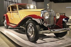 The New Petersen Automotive Museum (USautos98) Tags: 1930 rollsroyce phantomi windblown coupe brewster