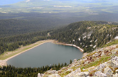 Rhonda Lake from near the Summit (jjdorsey57) Tags: bc bigwhite jjdorsey57