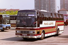 P.&O. LLOYD 5373PO (bobbyblack51) Tags: po lloyd 5373po volvo b10m plaxton paramount buchanan bus station glasgow 1995