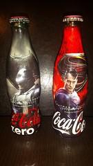 Coca Cola Batman vs Superman Glass bottles (caremblem) Tags: dc marvel comics batman superman dawn justice gotham city metropolis