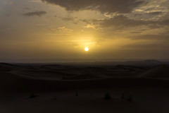 Sunrise in Merzouga