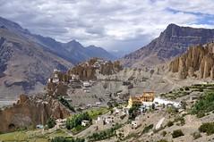 SPI_194 (soggy_3_16) Tags: spiti himalayas landscape nikon d90 dhankar mon monastery
